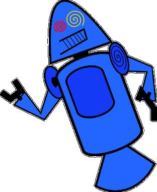 Connaissiez-vous ces créatures terrifiantes qui ont été proposées comme mascottes pour Android ? - Dandroids bleu