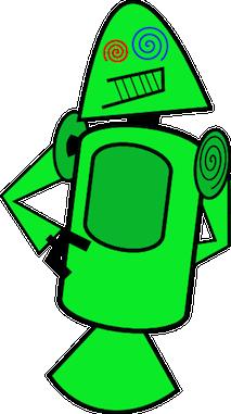 Connaissiez-vous ces créatures terrifiantes qui ont été proposées comme mascottes pour Android ? - Dandroids vert