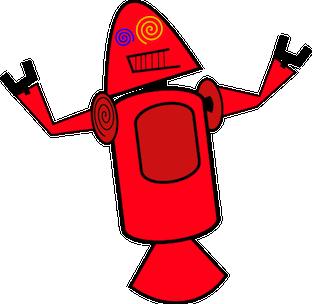 Connaissiez-vous ces créatures terrifiantes qui ont été proposées comme mascottes pour Android ? - Dandroids rouge
