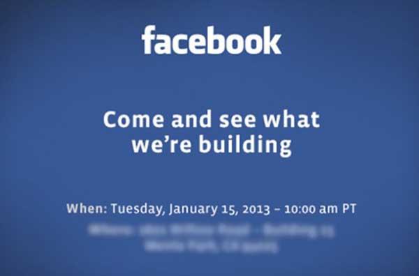 Facebook est en train de 'construire' quelque chose, qu'il dévoilera la semaine prochaine