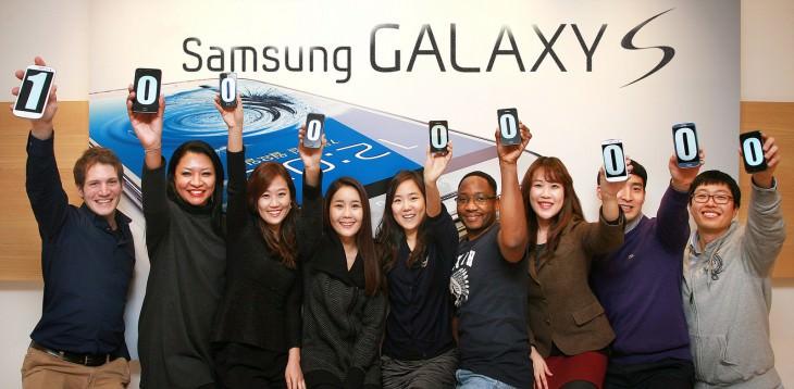La gamme Galaxy S de Samsung dépasse les 100 millions de ventes, dont 41 millions pour le S3