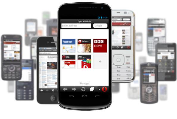 La navigation Web mobile est la hausse : ne négligez pas Opera !
