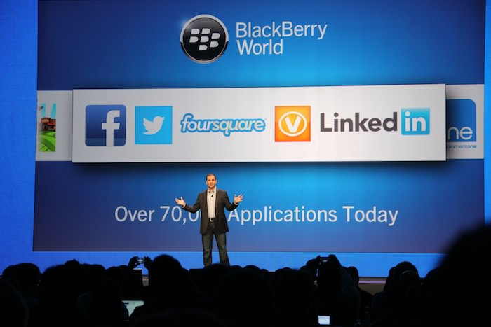 Le BlackBerry 10 App Store dispose de plus de 70 000 applications