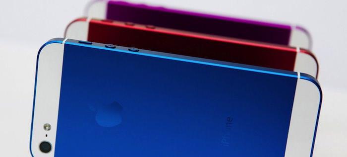 L'iPhone 5S pourrait arriver en différents coloris, et en différentes tailles d'écran