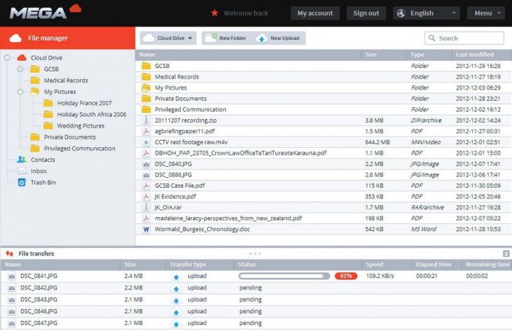 Mega offrira 50 Go de stockage gratuit, et pourrait réintégrer les données de Megaupload