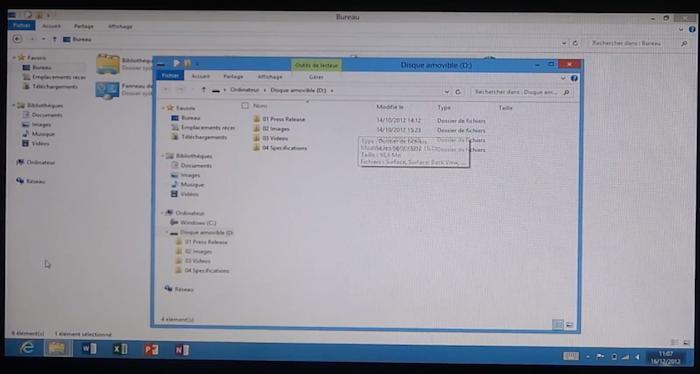 Microsoft Surface RT : une tablette bridée par l'OS - Internet Explorer en version tablette