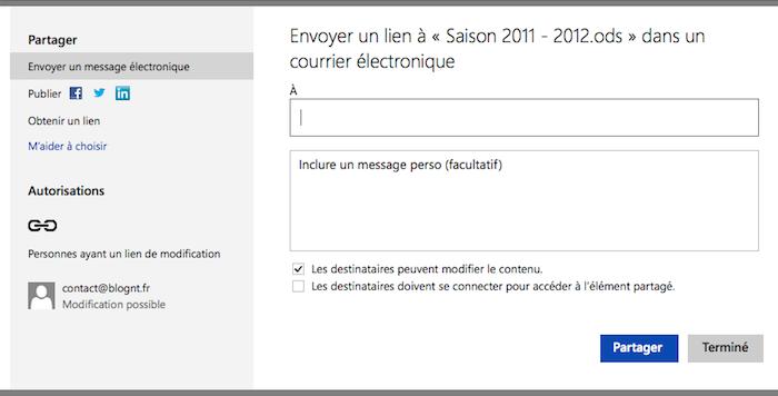 SkyDrive se modernise grâce à l'HTML5 - Vue unifiée des partages d'un média