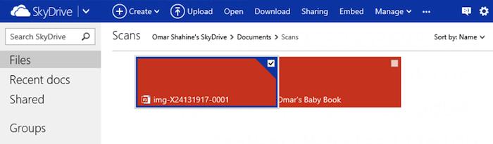 SkyDrive se modernise grâce à l'HTML5 - Drag&Drop sur SkyDrive
