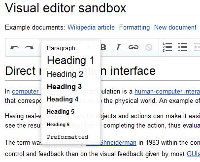 Wikimedia a besoin de votre aide afin de tester un nouvel éditeur visuel - VisualEditor sur la Wikipédia