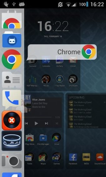 Ajoutez la sidebar Ubuntu Phone OS sur Android avec Glovebox - Lancement des applications Android depuis une barre latérale