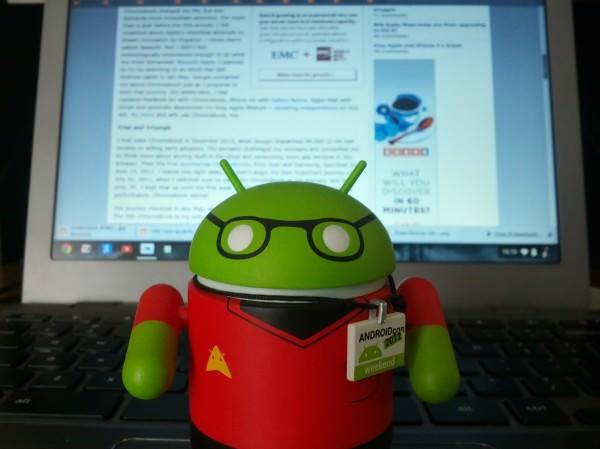 Google fusionnerait-il Chrome OS et Android ?