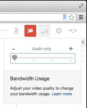 Google introduit une option pour gérer la bande passante et l'audio seul dans les Hangouts