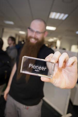 Google offre quelques extraits sur l'évènement top-secret Glass Foundry - Récompense 'Pioneer'