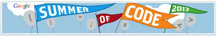 Google Summer of Code 2013 c'est reparti !