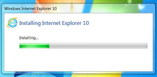 Internet Explorer 10 est désormais disponible sur Windows 7 - Installation d'Internet Explorer 10