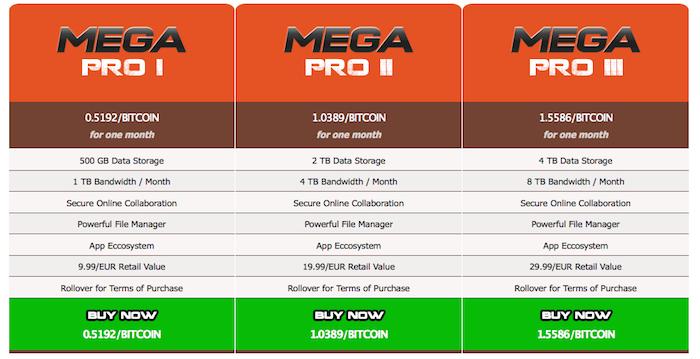 Mega s'améliore afin de supporter Bitcoin, et va s'élargir aux e-mails, chat, vidéo et mobiles