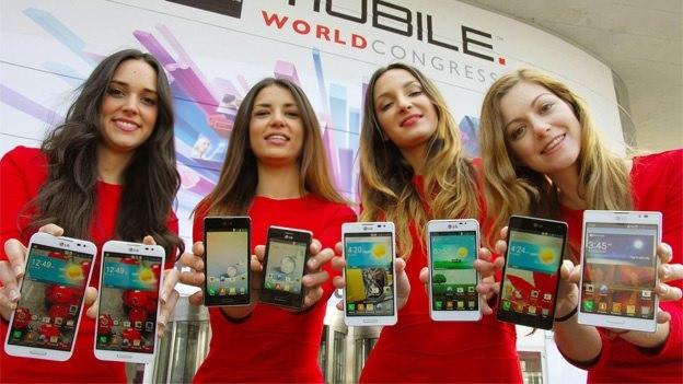 MWC'13 : LG dévoile ses séries Optimus G, Vu, F, et LII de smartphones - Totalité des dispositifs LG présentés lors du MWC 2013