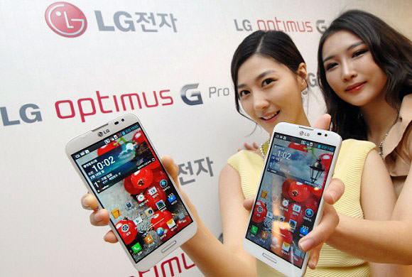 MWC'13 : LG dévoile ses séries Optimus G, Vu, F, et LII de smartphones - LG Optimus G Pro