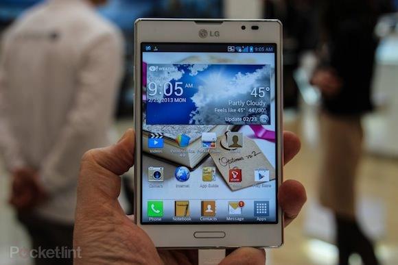 MWC'13 : LG dévoile ses séries Optimus G, Vu, F, et LII de smartphones - LG Optimus Vu