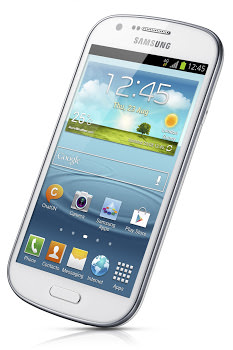 MWC'13 : Samsung présente le Galaxy Express et le Galaxy Xcover 2 - Le Galaxy Xcover 2 est dédié aux conditions extrêmes (Vue de face)