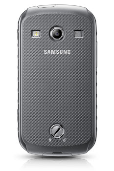 MWC'13 : Samsung présente le Galaxy Express et le Galaxy Xcover 2 - Le  Galaxy Express est conçu pour prendre en charge l'avenir des réseaux de téléphonie, la 4G (Vue de dos)