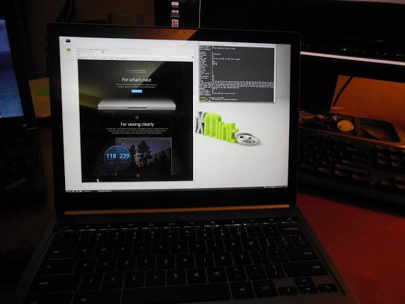 Prends ça, Chrome OS ! Le Chromebook Pixel fonctionne Ubuntu et Linux Mint