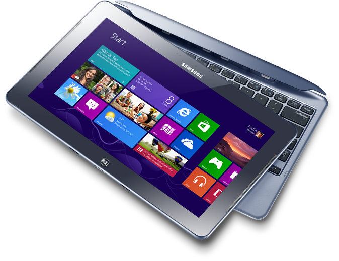 Prise en main du ATIV Smart PC, le dispositif hybride Samsung