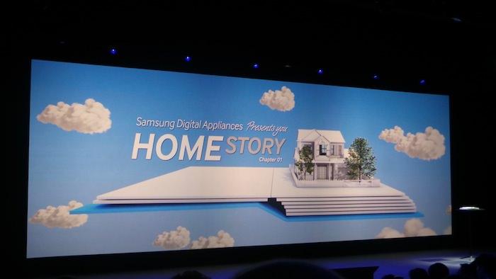 Samsung Forum 2013, en un mot Samsung veut être omniprésent chez vous ! - Home Story Chapter 01