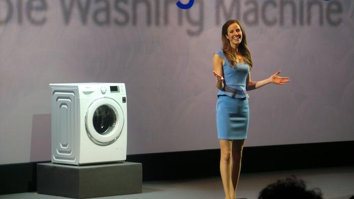 Samsung Forum 2013, en un mot Samsung veut être omniprésent chez vous ! - Machine à laver Samsung ecobubble