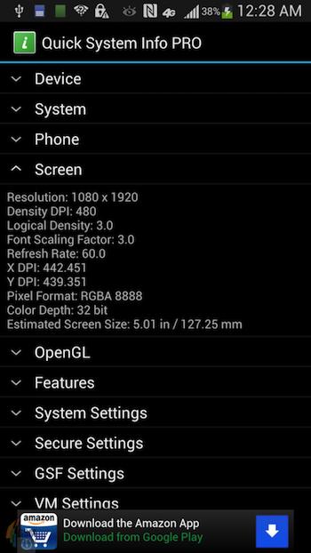 Davantage de rumeurs sur le Galaxy S4 se dévoilent ! - Spécifications techniques du Galaxy S4