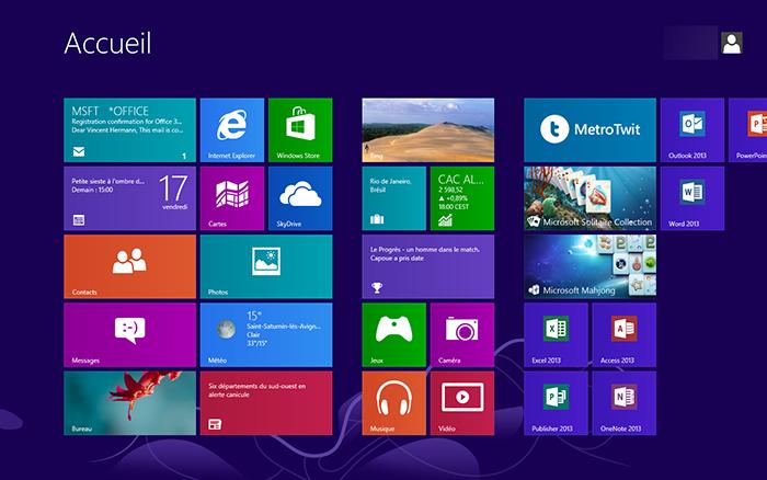 Des mises à jour de Windows 8 et Windows RT devraient débarquer le mois prochain