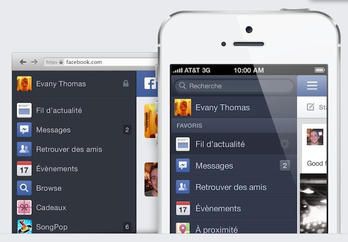Facebook dévoile le nouveau design de son News Feed (Fil d'actualités) - Même expérience sur mobile, tablette ou le web