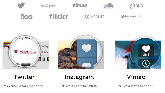 Flattr relance et pose une vielle question : combien vaut réellement un like ? - Flattr s'associe avec diverses plateformes sociales