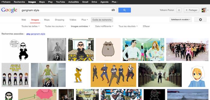 Google lance la recherche de GIF animé, Internet pleure de joie - Google Images permet dorénavant de rechercher des GIFs animés