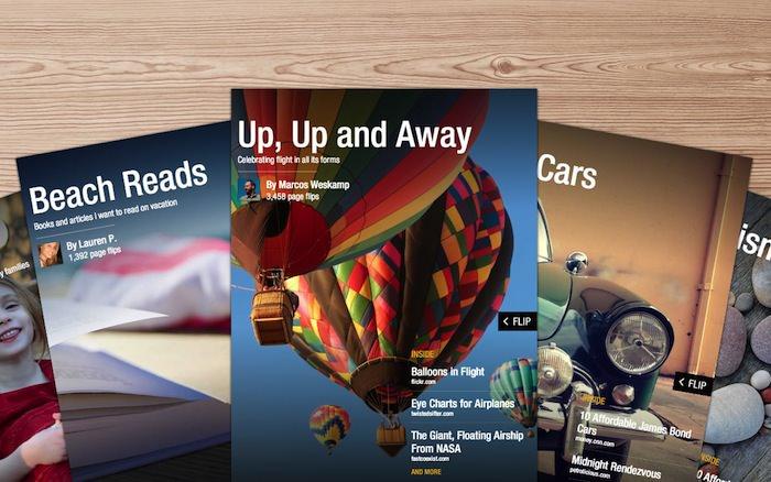 L'auto-curation de Flipboard est un succès avec 100 000 magazines créés en 24 heures