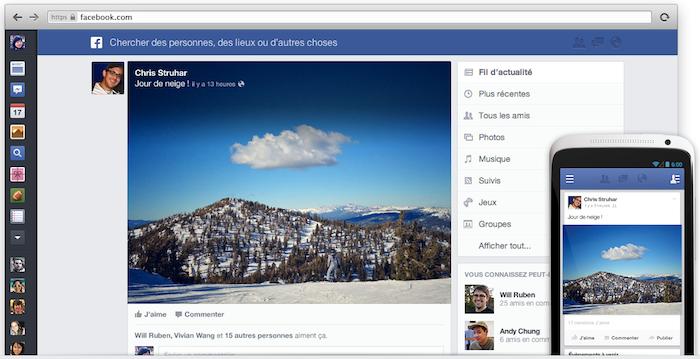 Le News Feed de Facebook arrive sur le Web aujourd'hui, iOS dans quelques semaines et Android après - Nouveau design pour le News Feed de Facebook