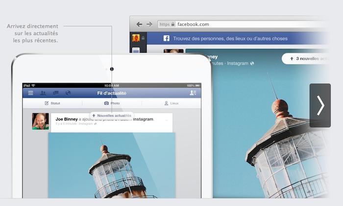 Le News Feed de Facebook arrive sur le Web aujourd'hui, iOS dans quelques semaines et Android après - Les applications mobiles offriront la même expérience que sur le Web