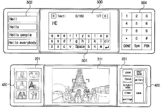 LG remporte un brevet pour un téléphone avec trois écrans