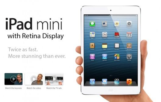 L'iPad Mini avec l'écran Retina ne pas sortira avant la fin de l'été