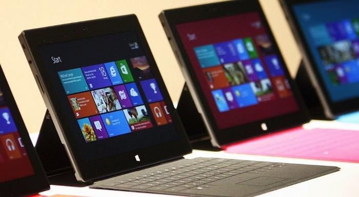 Microsoft aurait vendu 1,5 millions de tablettes Surface, dont 400 000 de Surface Pro