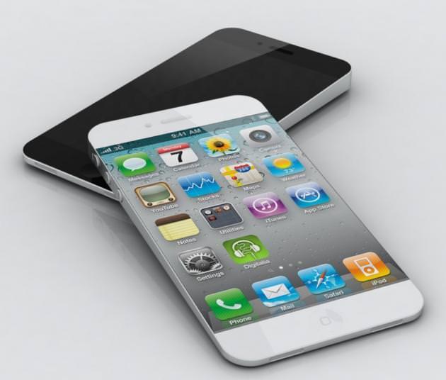 On annonce le nouvel iPhone, iPhone 5S, pour août 2013 - Un concept de l'iPhone 5S