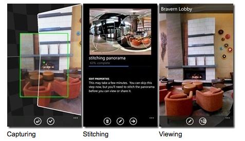 Prenez des panoramas sous Windows Phone 8 avec Photosynth - Photosynth permet de prendre des clichés à 360° sans prendre séparément des photos