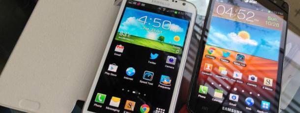 Samsung pourrait voir plus grand avec le Galaxy Note 3