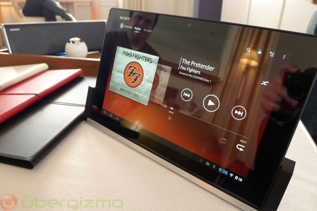 Sony Xperia Tablet Z vs. iPad vs. Nexus 10 : les spécifications