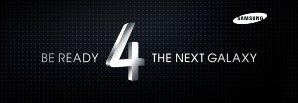 Suivez le lancement du Galaxy S4 en live ici : liveblog et direct !