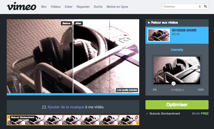 Vimeo lance 'Apparences' qui ajoute plus de 500 nouveaux effets visuels pour vos vidéos - Possibilité de choisir un effet et visualiser l'avant / après en temps-réel