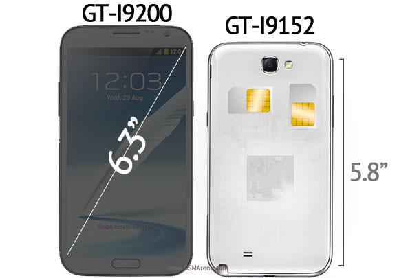 Des Galaxy Mega venant surpasser les Galaxy Note ?
