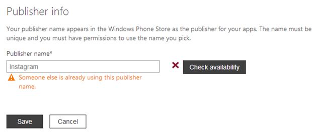 Un mystérieux utilisateur Instagram aurait été enregistré sur le store de Windows Phone