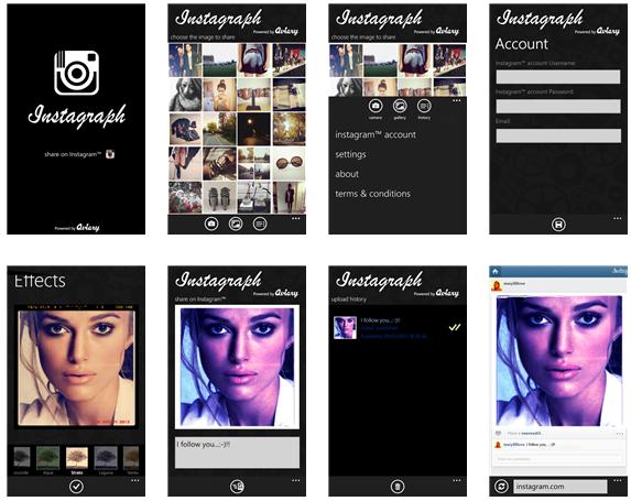 Instagraph se voulait être le remplaçant d'Instagram sur Windows Phone