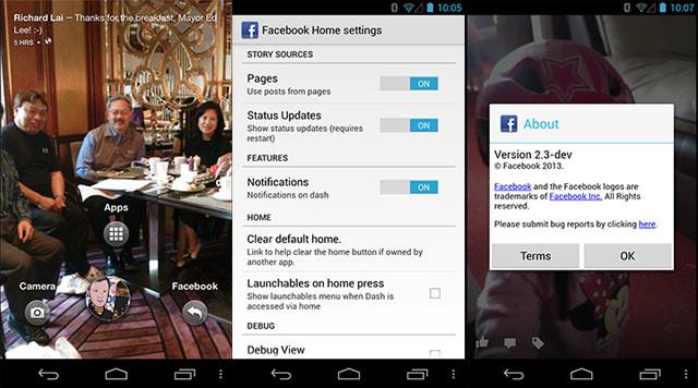 Facebook Home déjà leaké avant son lancement officiel ce vendredi